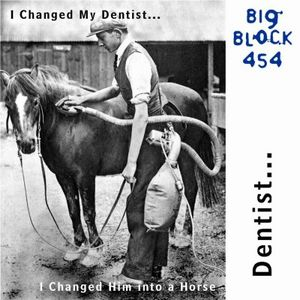 Big Block 454 - I Changed My Dentist... I Changed Him Into A Horse CD (album) cover