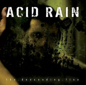 Acid Rain - The Descending Line CD (album) cover