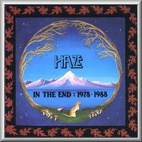 Haze - In The End CD (album) cover