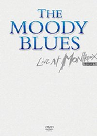 The Moody Blues - Live At Montreux 1991 DVD (album) cover