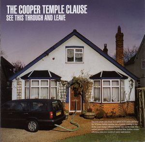 The Cooper Temple Clause - See This Through And Leave CD (album) cover