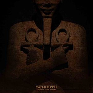 Senmuth - Zekhenu Uaut Setekh CD (album) cover