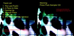 Guy Manning - Burnside - The Sampler CD (album) cover