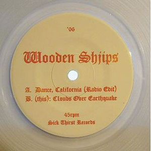 Wooden Shjips - Dance, California CD (album) cover