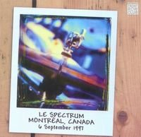 Marillion - Le Spectrum, Montréal, Canada, 6 September 1997 (front Row Club 008) CD (album) cover