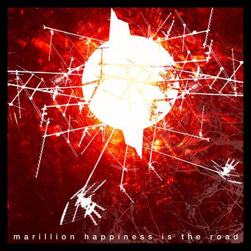 Marillion - Hapiness Is The Road CD (album) cover