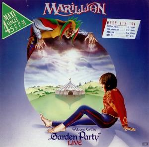 Marillion - Garden Party Live CD (album) cover
