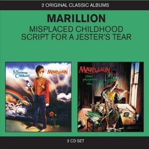 Marillion - Misplaced Childhood / Script For A Jester's Tear CD (album) cover