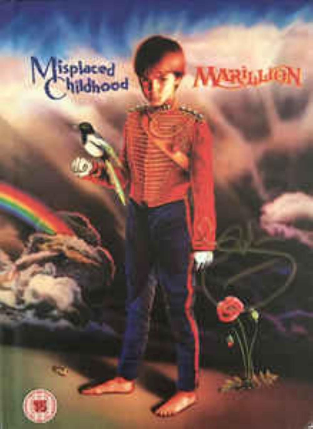 MARILLION - Misplaced Childhood CD album cover