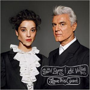David Byrne - Love This Giant (with St.vincent) CD (album) cover