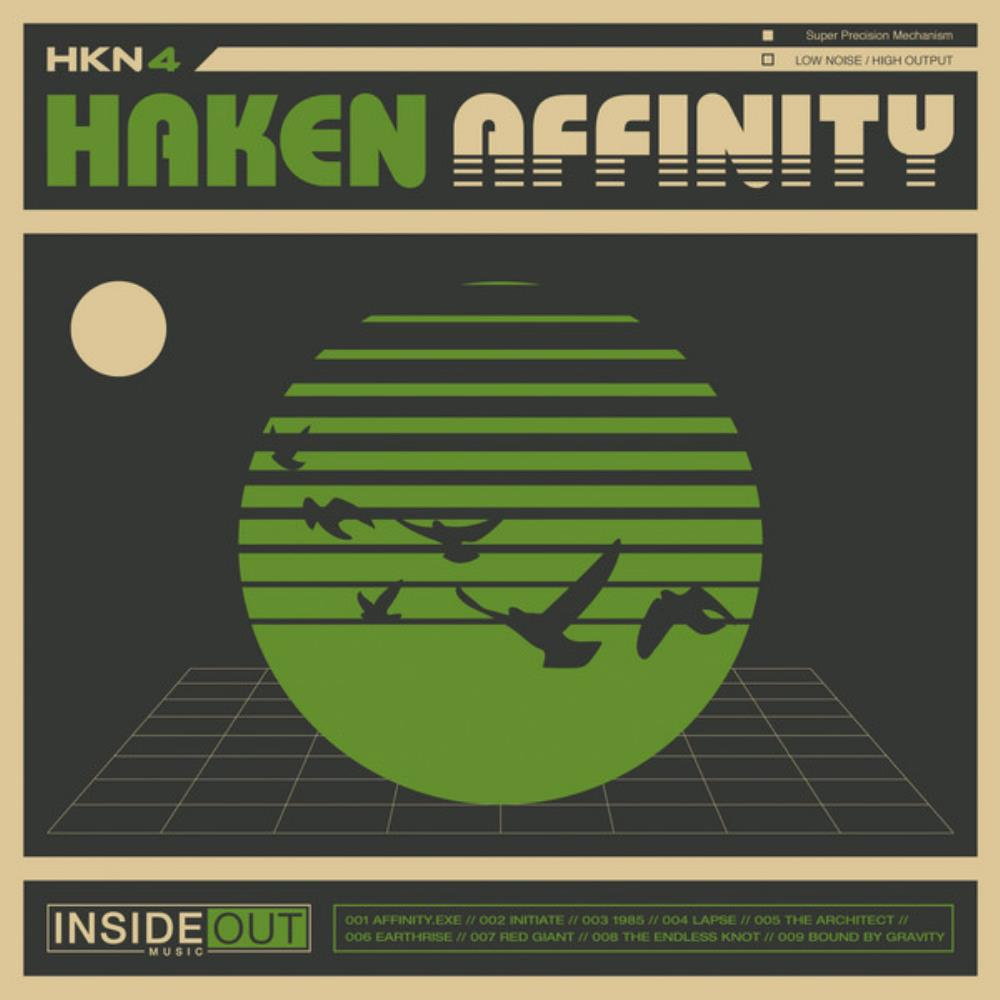 Haken - Affinity CD (album) cover