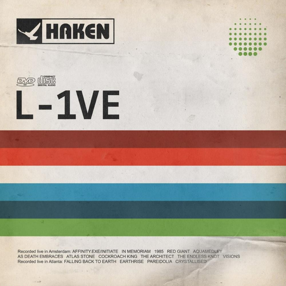 Haken - L-1ve CD (album) cover