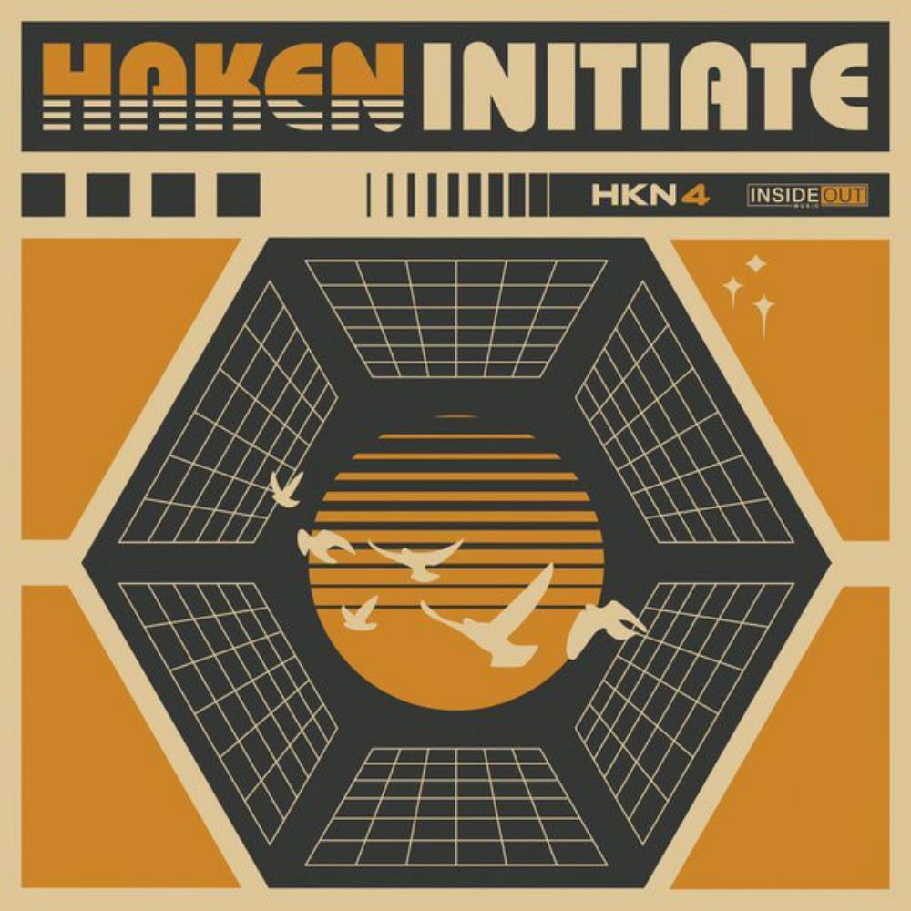 Haken - Initiate CD (album) cover