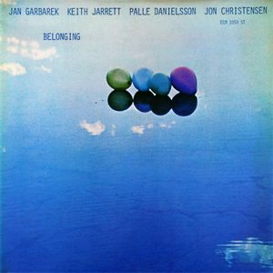 Jan Garbarek - Belonging (with Keith Jarrett, Palle Danielsson, Jon Christensen) CD (album) cover