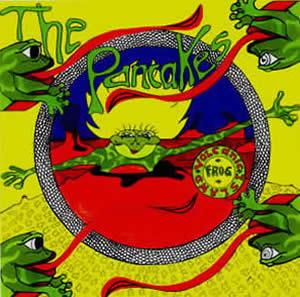 The Pancakes - Volcanic Frog Island CD (album) cover