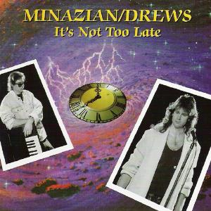 David Minasian - It's Not Too Late (with William Drews) CD (album) cover