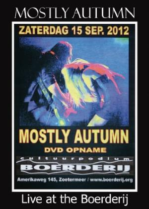 Mostly Autumn - Live At The Boerderij DVD (album) cover