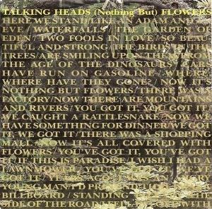 Talking Heads - (nothing But) Flowers CD (album) cover