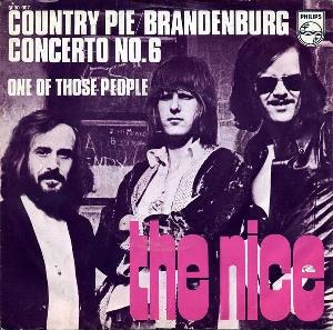 The Nice - Country Pie / Brandenburg Concerto No. 6 CD (album) cover
