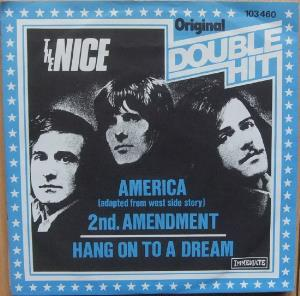 The Nice - America / Hang On To A Dream CD (album) cover