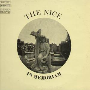 The Nice - In Memoriam CD (album) cover