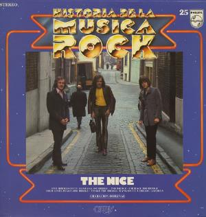 The Nice - Historia De La Musica Rock CD (album) cover
