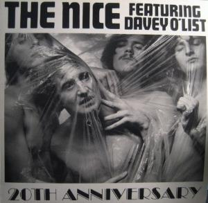 The Nice - The Nice Featuring Davey O'list: 20th Anniversary CD (album) cover