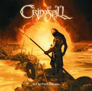 Crimfall - As The Path Unfolds... CD (album) cover