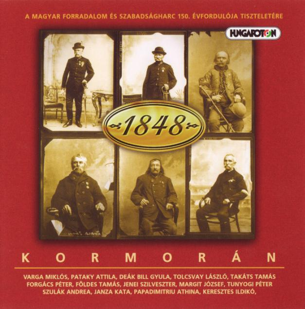 KormorÁn - 1848 (tribute To The Revolution) CD (album) cover