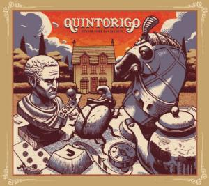 Quintorigo - English Garden CD (album) cover