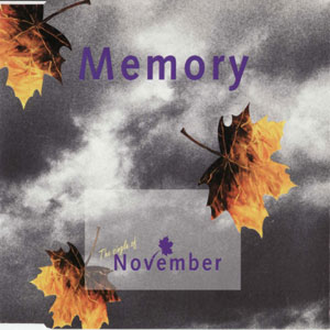November - Memory CD (album) cover