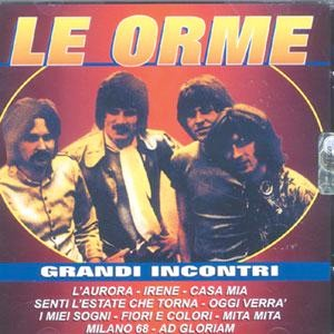 Le Orme - Grandi Incontri CD (album) cover