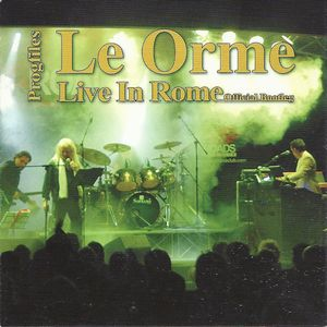 Le Orme - Progfiles: Live In Rome CD (album) cover