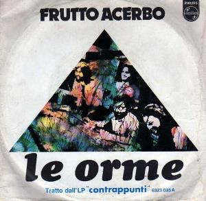 Le Orme - Frutto Acerbo CD (album) cover