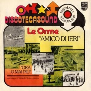 Le Orme - Amico Di Ieri CD (album) cover