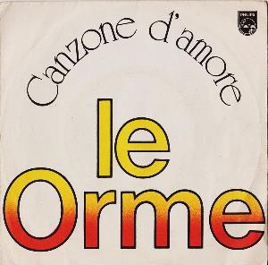 Le Orme - Canzone D'amore CD (album) cover