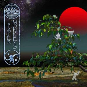 OZRIC TENTACLES - Paper Monkeys CD album cover