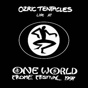 Ozric Tentacles - Live At One World Frome Festival 1997 CD (album) cover