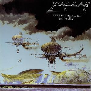 Pallas - Eyes In The Night (arrive Alive) CD (album) cover