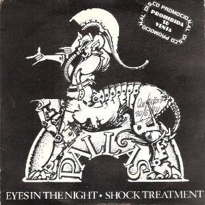 Pallas - Eyes In The Night / Shock Treatment CD (album) cover