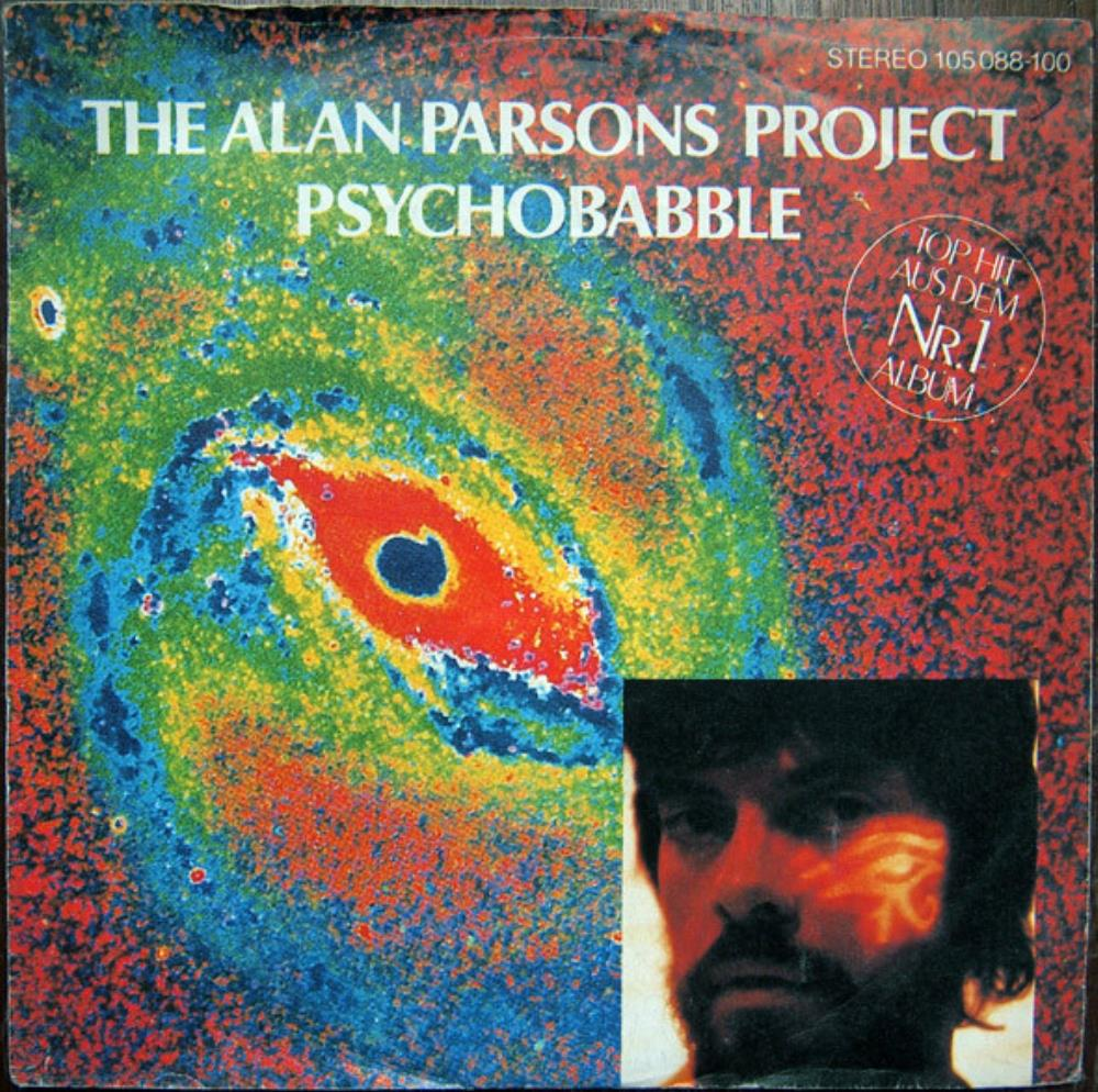 The Alan Parsons Project - Psychobabble CD (album) cover