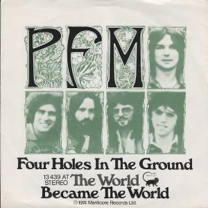 Premiata Forneria Marconi (pfm) - Four Holes In The Ground CD (album) cover