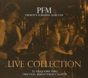 Premiata Forneria Marconi (pfm) - Live Collection - 25 Novembre 1980 CD (album) cover