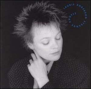 Laurie Anderson - Strange Angels CD (album) cover