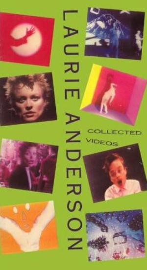 Laurie Anderson - Collected Videos DVD (album) cover