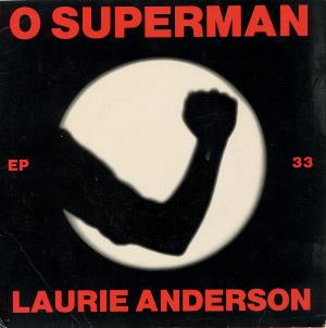 Laurie Anderson - O Superman CD (album) cover
