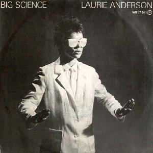 Laurie Anderson - Big Science CD (album) cover