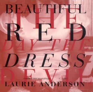 Laurie Anderson - Beautiful Red Dress CD (album) cover