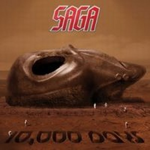 Saga - 10000 Days CD (album) cover