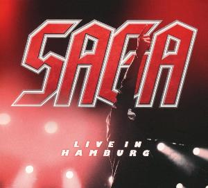 Saga - Live In Hamburg CD (album) cover